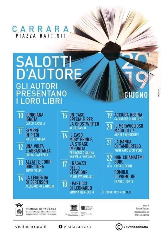 I Salotti d'Autore 11-22 giugno 2019