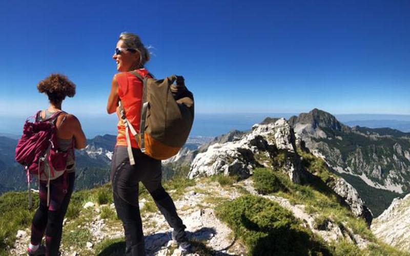 Carrara trekking