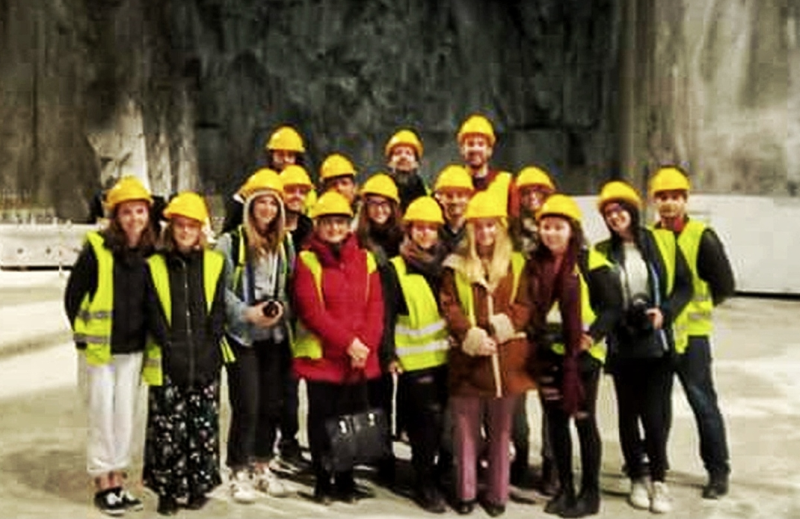 Carrara tour michelangelo e in marzo