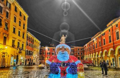 babbo Natale in piazza Alberica