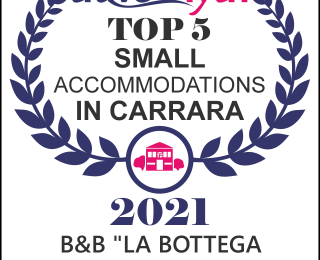Top five small accomodations in Carrara